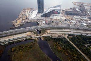 Съезды к «Лахта-Центру» обойдутся почти в 4 млрд рублей