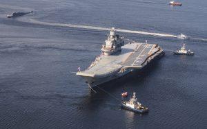 Глава ОСК: Пожар не помешал ремонту на «Адмирале Кузнецове»