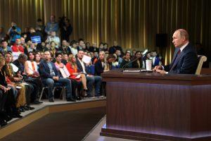 Завершилась большая пресс-конференция Владимира Путина