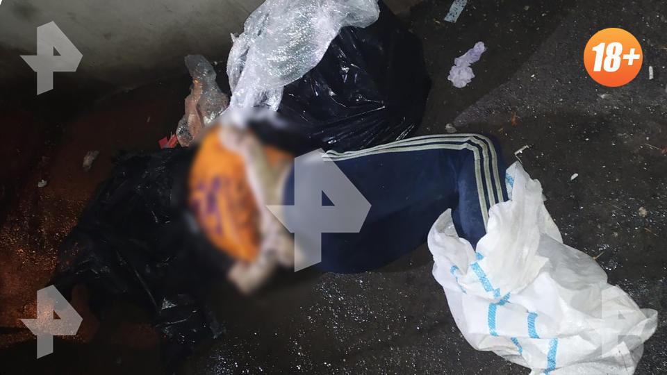 Связанное тело женщины с пакетом на голове нашли у мусорки в Москве