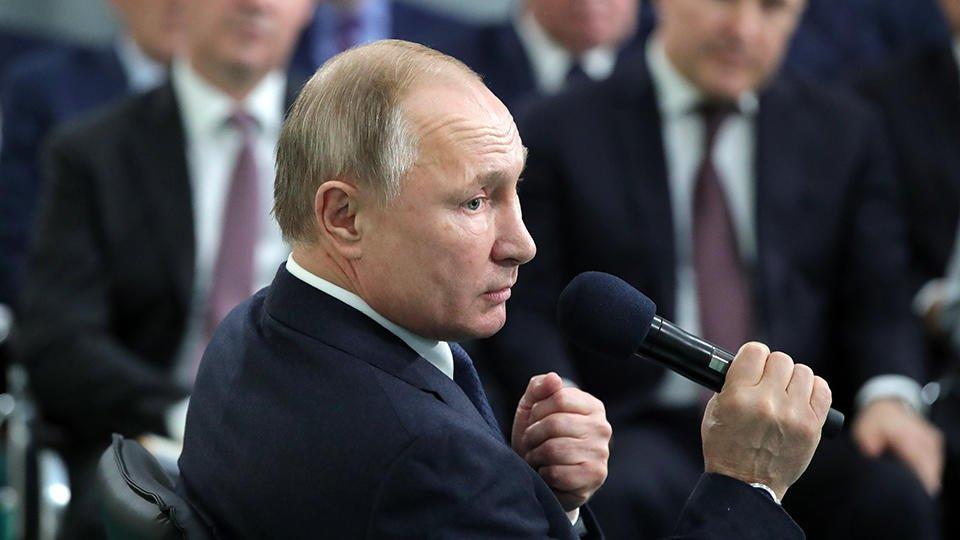 Путин назвал напиток, который пьет вместо чая
