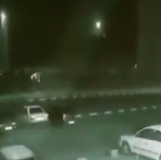 Появилось видео предполагаемого запуска ракеты по украинскому Boeing