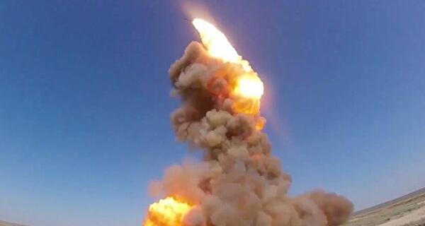 Российская ракета упала в Казахстане