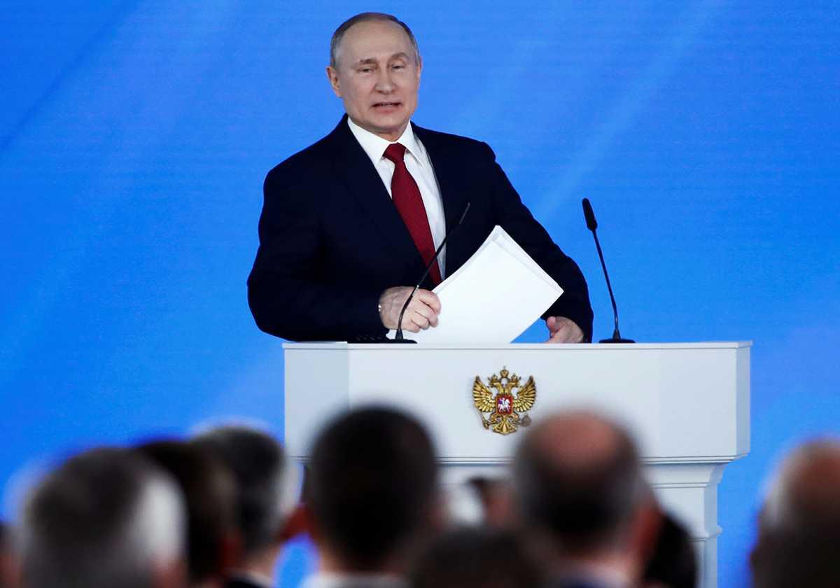 Раскрыт план Путина поизменению Конституции