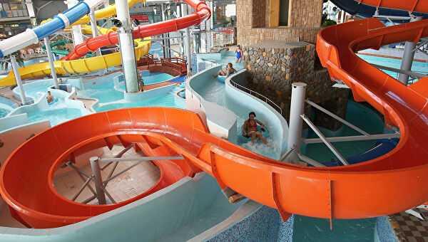 Ребенка засосало вслив московского аквапарка