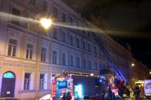 В новогоднюю ночь дважды горело в Петроградском районе