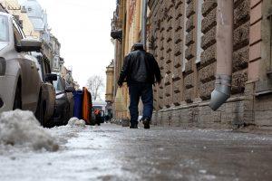 Жителей Ленобласти предупредили о гололедице