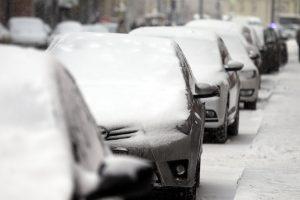 В понедельник петербуржцев ждут мокрый снег и метель