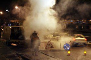 Жители Адмиралтейского района остались без тепла из-за аварии
