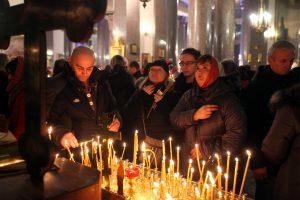 Тиха рождественская ночь: Петербург встретил главный христианский праздник