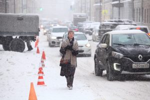 Синоптик: Петербург сегодня окажется на пути тёплого атмосферного фронта