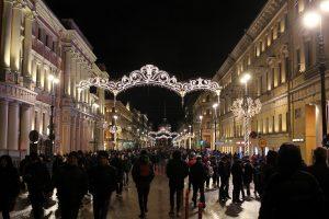 Полиция Петербурга сообщила об отсутствии серьёзных правонарушений в Новый год