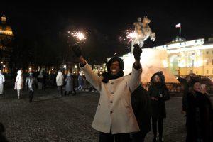 Попытка почти удалась: как прошла новогодняя ночь в Петербурге