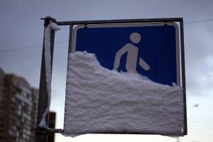 В начале недели в Ленинградской области пройдёт снег