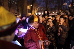 Петербургские буддисты встретили Новый год