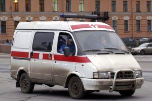 Очевидцы: На пересечении Дунайского и Купчинской автомобиль врезался в толпу пешеходов