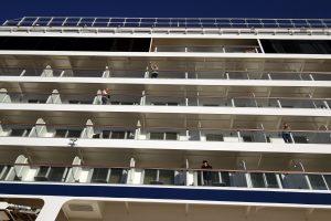 Коронавирус на круизном лайнере в Японии не затронул россиян
