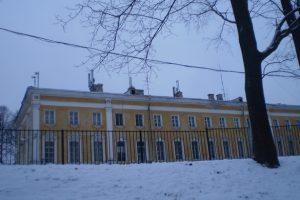 ГАТИ выдала ордер на работы в 1-м Министерском доме в Петергофе