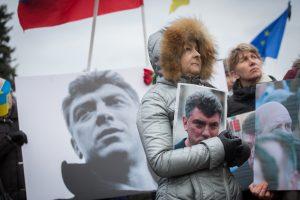 В Петербурге прошла акция памяти Бориса Немцова
