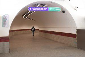 С 1 апреля метро в Петербурге будет работать только до 22:00