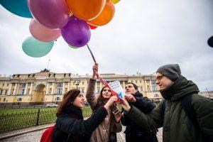 В Петербурге прошла акция против поправок в Конституцию. На ней задержали более 20 человек