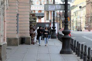 Петербург оказался на 4 месте в рейтинге городов на самоизоляции