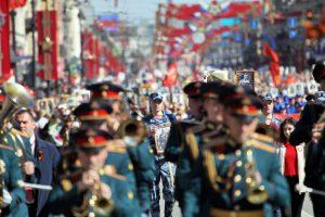 Президент РФ присоединился к акции «Бессмертный полк»