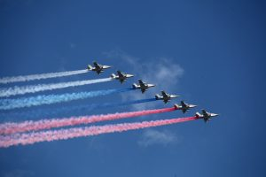Воздушный парад в Петербурге пройдёт над Пискарёвкой