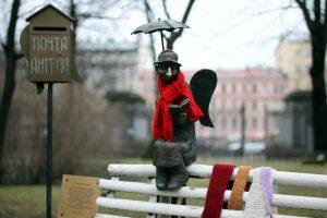 В Петербурге скончался автор скульптуры ангела из Измайловского сада