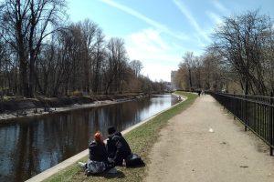 В Петербурге теплеет, местами возможны дожди