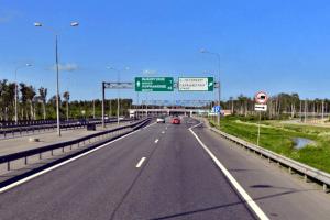 На внешнем кольце КАД от ЗСД до Приморского шоссе перекроют одну полосу
