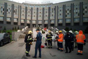 Семьям погибших при пожаре в больнице Святого Георгия выплатят по миллиону рублей