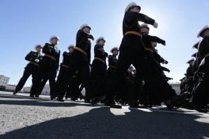 На Дворцовой площади пройдут три репетиции парада Победы