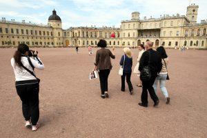 КГИОП сообщил о новых работах по реставрации фасадов Гатчинского дворца