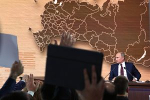 Песков: Владимир Путин проведёт прямую линию после 1 июля