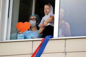 Поделись улыбкою своей: «Упсала-цирк» выступил для детей из онкоцентра