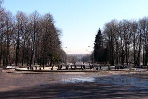 В Московском парке Победы отреставрировали фонтан «Слава»