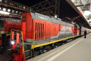 В Петербурге столкнулись два грузовых поезда