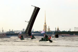 В Петербург для участия в Военно-морском параде прибыл катер «Михаил Казанский»