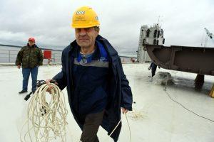 В Выборге заложили новый сторожевой корабль для погранслужбы