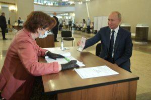 Владимир Путин подписал указ о вступлении в силу поправок к Конституции