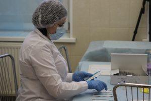 За сутки в Петербурге обследовали на коронавирус больше 8 тыс. человек