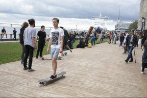 Под Коломяжским путепроводом появятся скейт-площадка и памп-трек