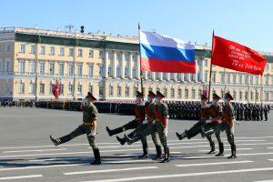Военный оркестр поздравит петербуржцев с Днём флага РФ