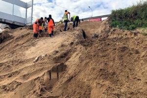 КРТИ заявил об устранении размыва на подъезде к Гореловскому путепроводу