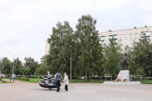 В сквере с памятником Виктору Цою появится современная подсветка