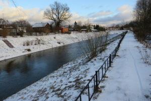 В Стрельне отремонтируют исторический Деривационный канал