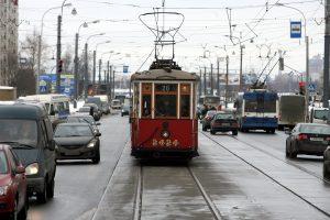 В Петербурге впервые с марта заработает туристический трамвай