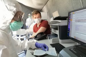 За сутки в Петербурге обследовали на коронавирус почти 23 тыс. человек