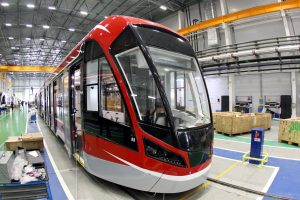 Петербуржцам предложили выбрать цвета для нового трамвая